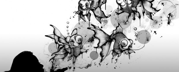 Noirceurs mélancolique et rondeurs d'un artiste Australien.