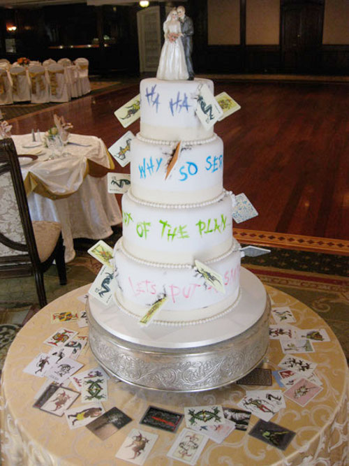 Wedding Cake Mariage Fushia