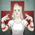 Jason Levesque (alias stuntkid) aime les femmes et les dessine avec brio et style dans un genre pin-up US et gothique