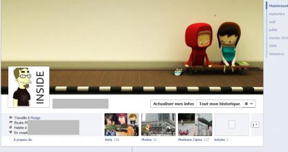 La Phase de Beta test de la Timeline de Facebook a commencé dès hier soir.