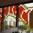 désormais les immeubles s'organisent et se lancent des défis entre eux : 6 étages !