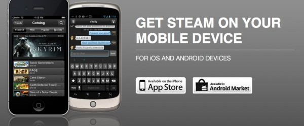 Tout le catalogue Steam dans votre poche.