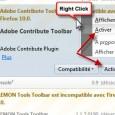 Forcer l'activation des modules marqués incompatibles sous Firefox 10