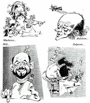 caricatures Hubinon Delporte Macherot Will