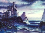 Castle by the Sea Wallpaper