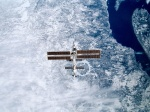 ISS over Canadian province Quebec
