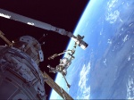 Spacewalk over the Aegian Sea