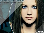 Avril Lavigne  Blue Eyes wallpaper