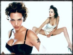 Angelina Jolie  Legs Open Wallpaper